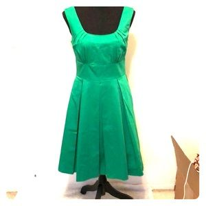 Calvin Klein green A line dress